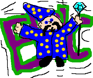 vector free library Epic wizard with tash. Zeus clipart meets