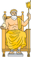 image free library The of at olympia. Zeus clipart zeus statue.