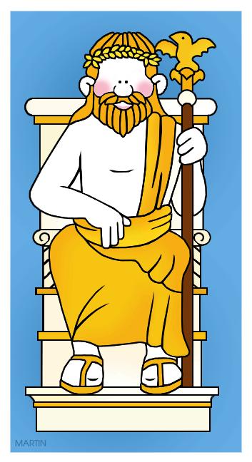 jpg stock Zeus clipart zeus statue. Seven wonders of the