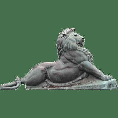 image free stock Zeus Statue transparent PNG