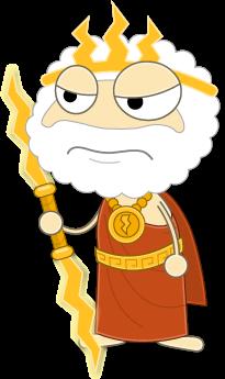 banner library Poptropica wiki . Zeus clipart zeus statue