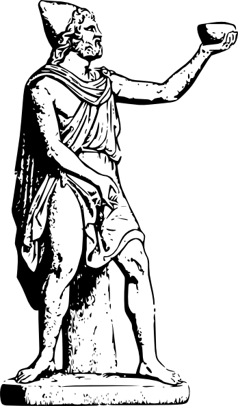 jpg stock Odysseus Statue Clip Art at Clker