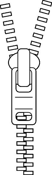 clipart transparent library Zipper Clip Art at Clker
