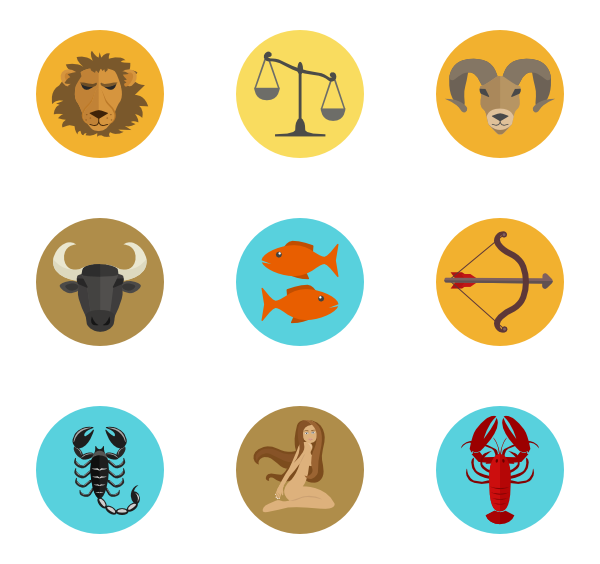 clip art free download  packs svg psd. Zodiac vector icon