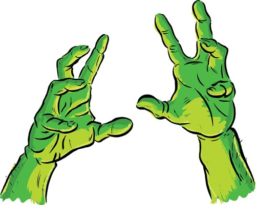 image free download Arms cartoon hand transparent. Zombie arm clipart.