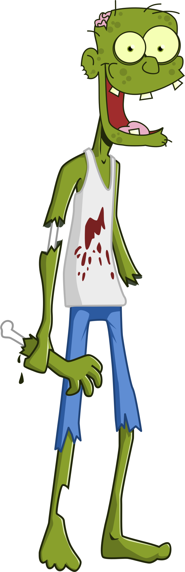 image royalty free download Cartoon. Zombie clipart