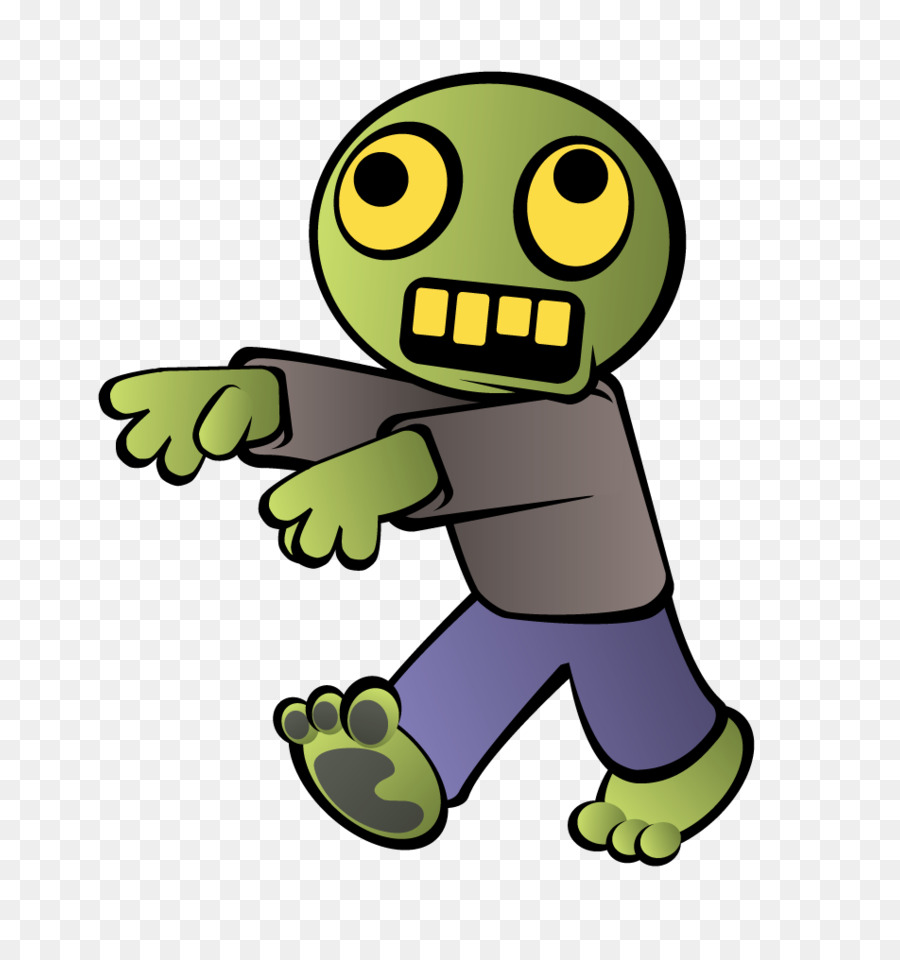 png transparent stock Zombie clipart. Cartoon green yellow smiley