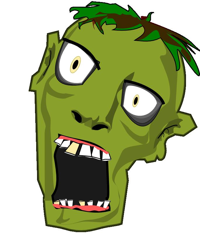 jpg free stock Zombie clipart. Head