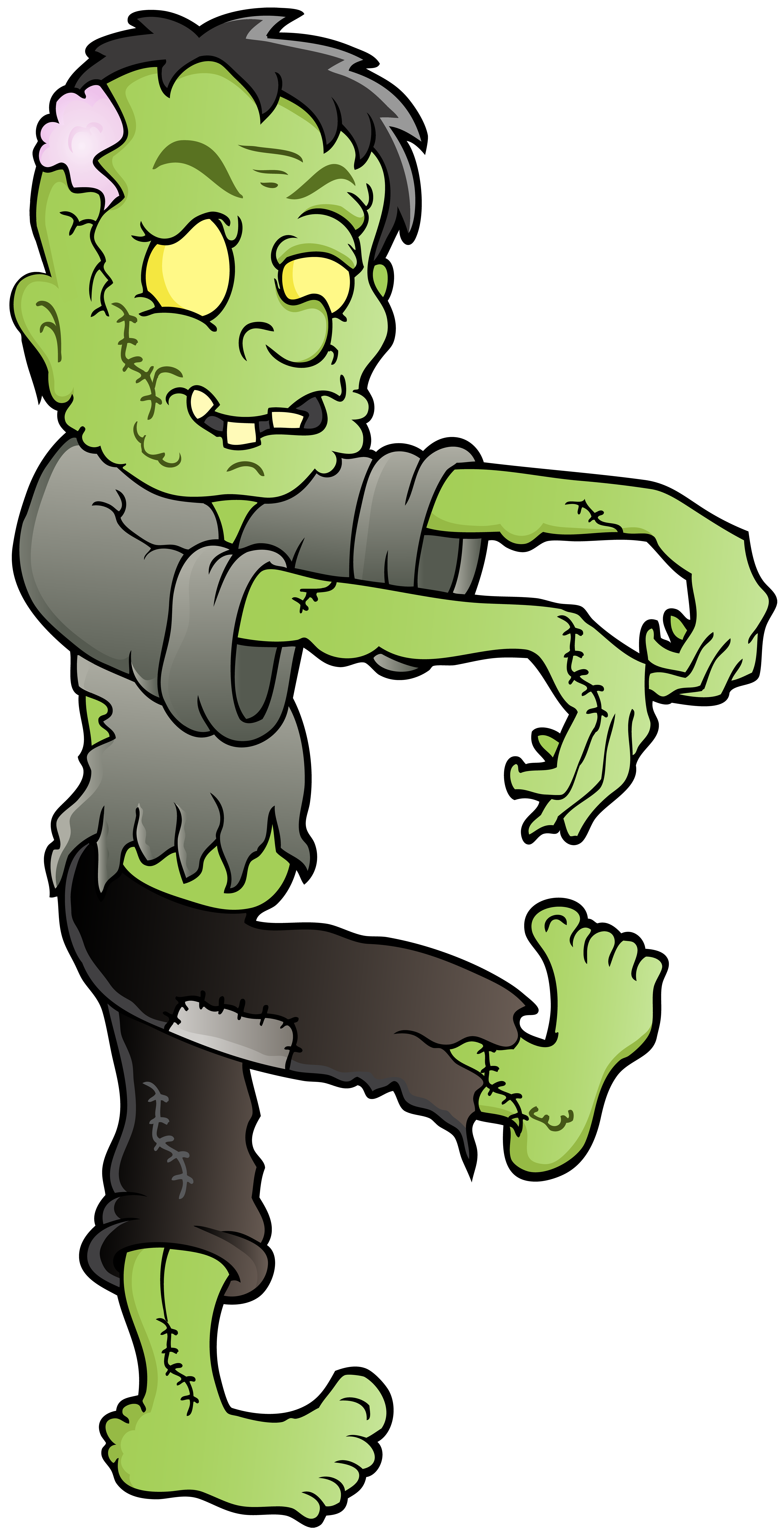 clip art library stock Png clip art image. Zombie clipart