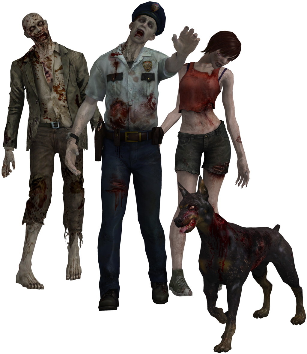 png transparent stock Resident evil zombie png