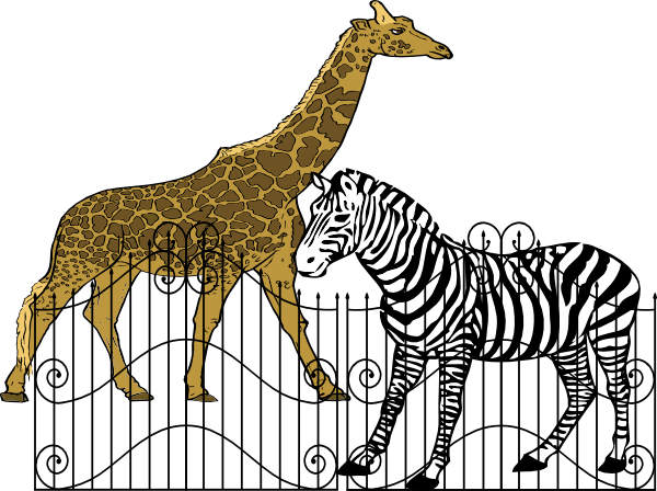 royalty free stock Clip art at clker. Zoo animals clipart.