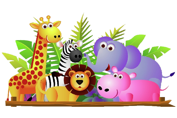 graphic library clipart zoo #68347787