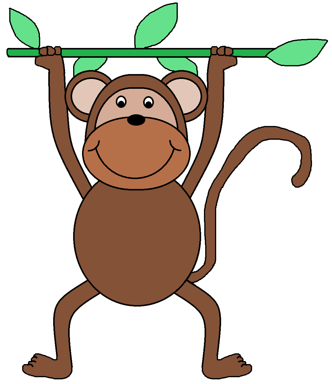 jpg transparent library Free zoo at getdrawings. Ape clipart kid