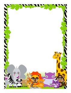 vector library download Free cliparts download clip. Zoo border clipart
