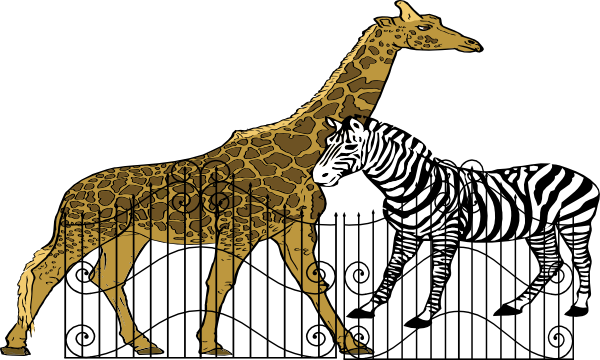 svg transparent download Zoo cage clipart. Clip art at clker