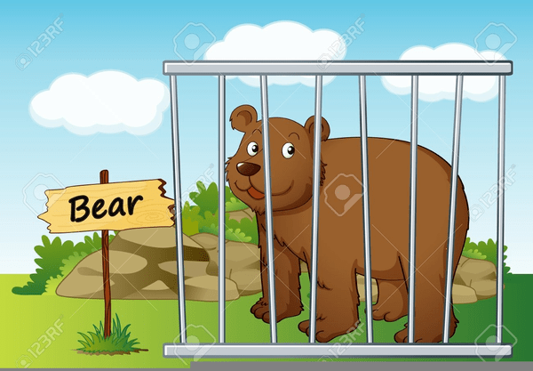 png free stock Portal . Zoo cage clipart