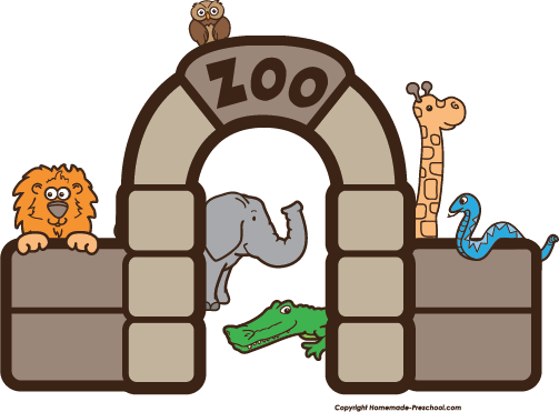 vector free stock Zoo clipart. Main entrance free on