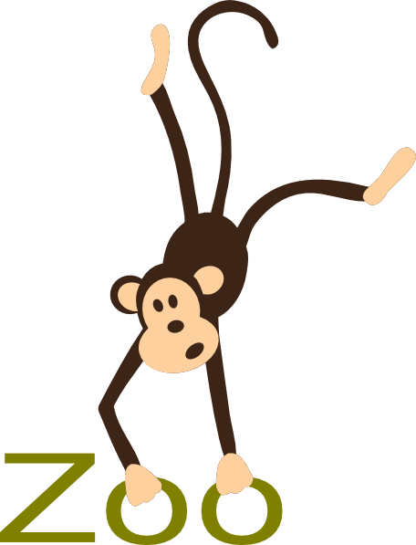 jpg black and white Zoo clip art clipart