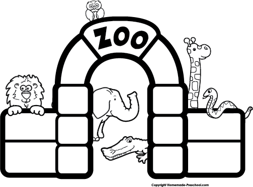picture free stock zoo entrance clipart #68348299