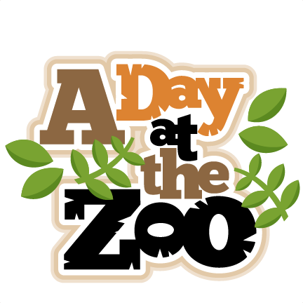 banner black and white Zoo Clipart Black And White