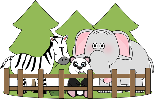 clip art freeuse library The preschool pinterest zoos. Zoo clipart free