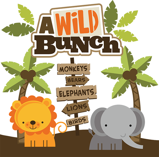 vector royalty free A Wild Bunch SVG Scrapbook Collection zoo svg cut files zoo svg