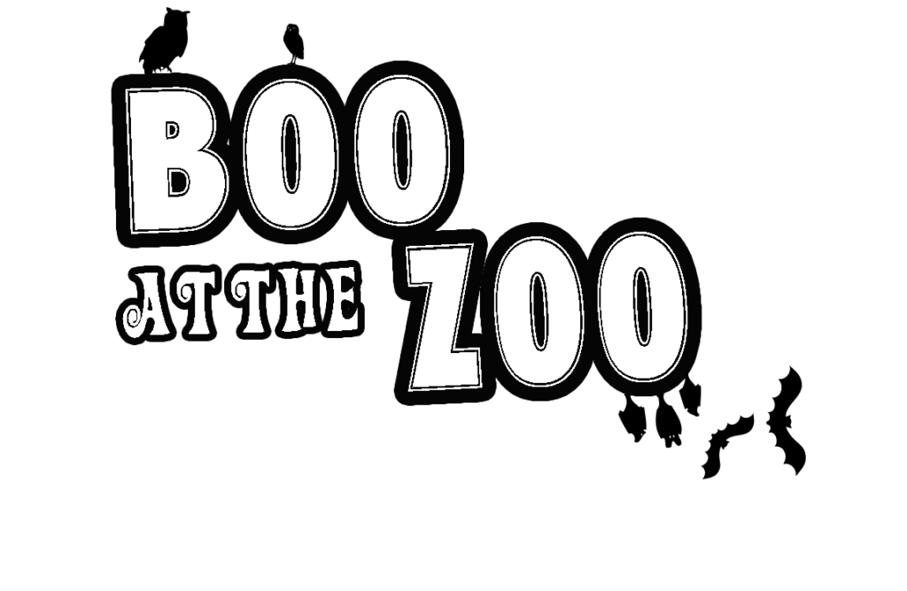 banner Zoo black and white clipart. Boo at the brandywine