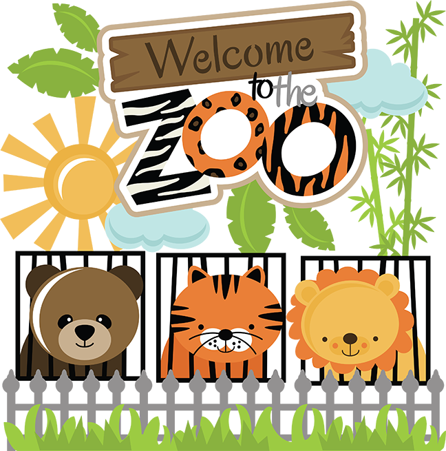 graphic royalty free Welcome to the svg. Zoo clipart zoo word