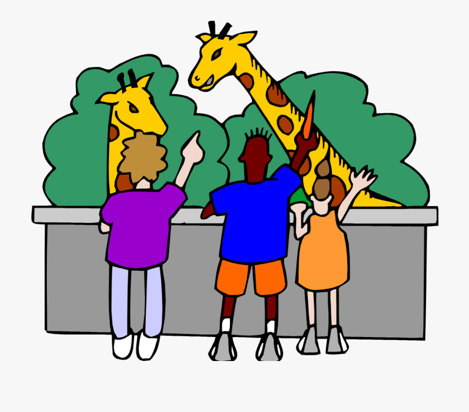 clip art free library Zoo field trip clipart. Png kids at the