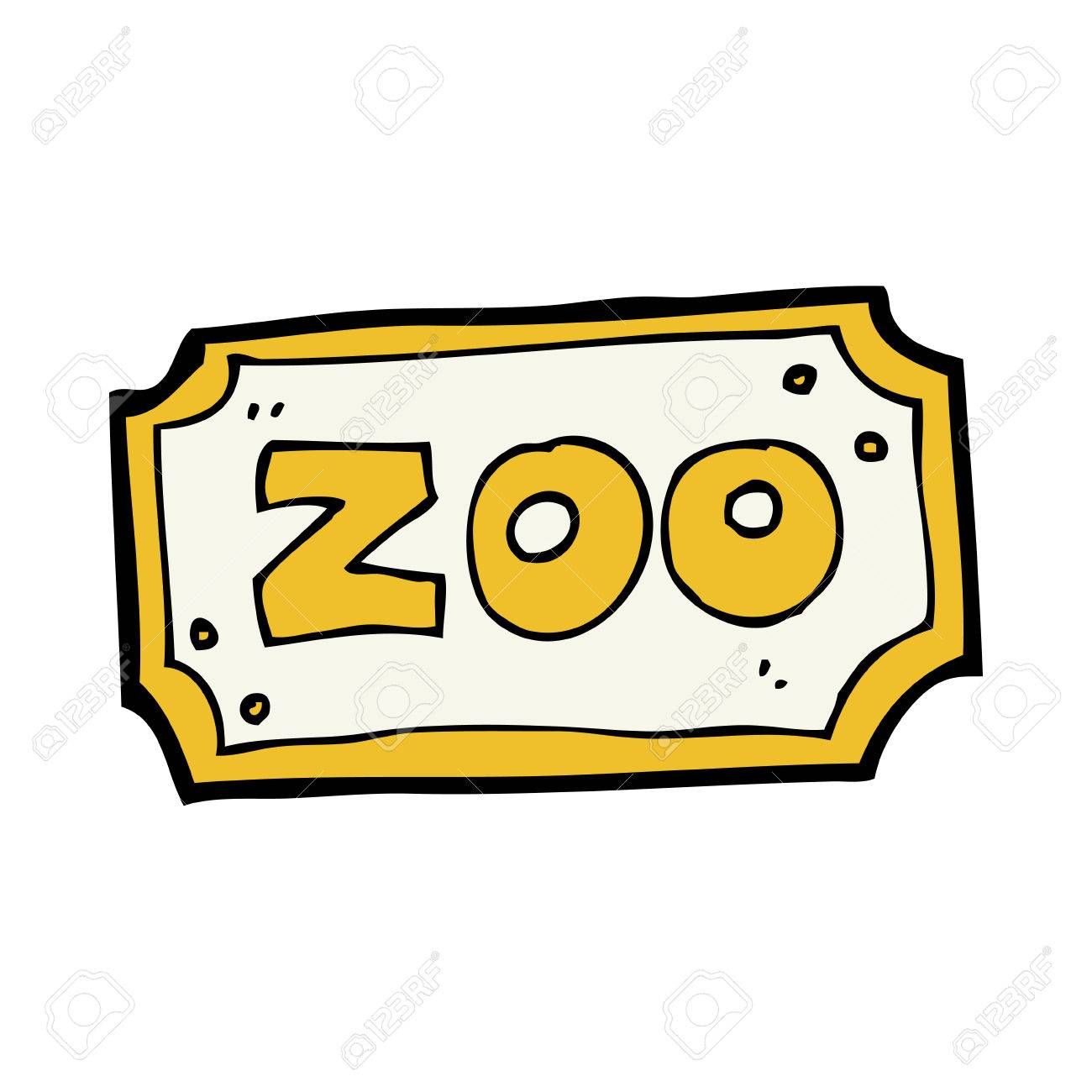 png black and white download Cartoon station . Zoo sign clipart.