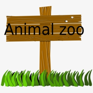 clipart transparent library Clip art transparent cartoon. Zoo sign clipart.