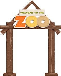 clip library download Zoo sign clipart. X free clip art