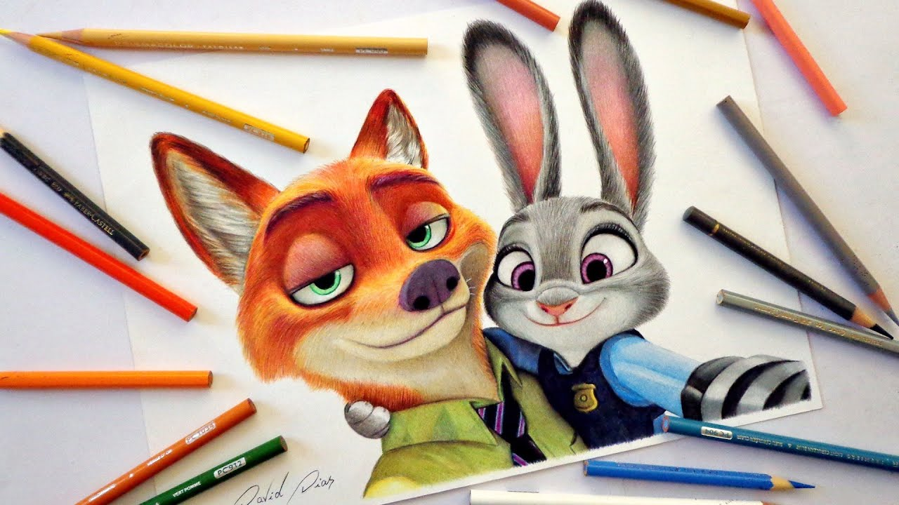 png freeuse Zootopia drawing. Speed nick and judy