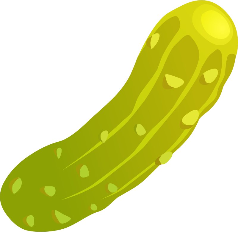 picture Zucchini cucamber free on. Cucumber clipart dill pickle